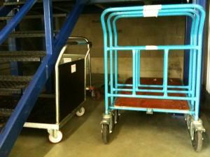 Chariots bleus 1