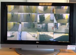 Vidéo surveillance Free Stock